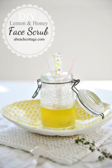 20130726-01-DIY-BEAUTY-Lemon-and-honey-face-scrub-recipe-abeachcottage.com_