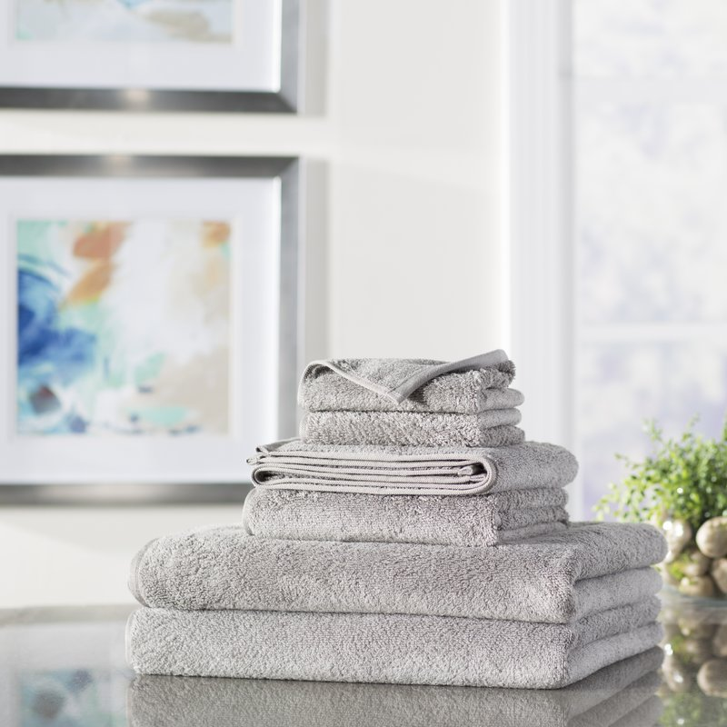 Wayfair+Basics+6+Piece+Quick+Dry+Towel+Set