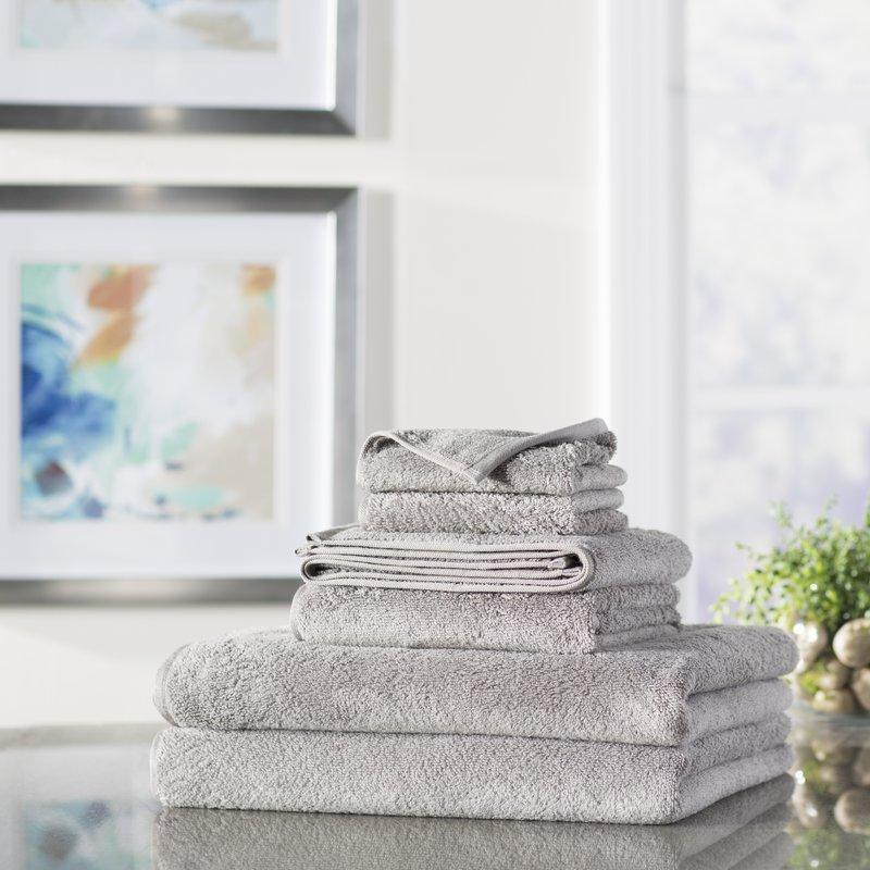 Wayfair+Basics+6+Piece+Quick+Dry+Towel+Set